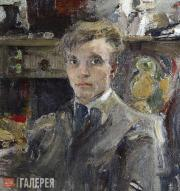 Fechin Nikolai. Self-portrait. 1920 (?)