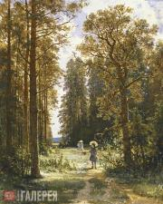 Шишкин Иван Иванович. Дорожка в лесу. 1880