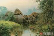 Polenov Vasily. Old mill. 1880