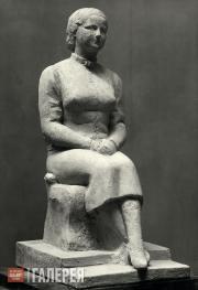 Orloff Chana. Sculptural Portrait of Olga Sacharoff. 1931