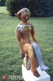 Корнеев Виктор. Дама с чулком. 1999