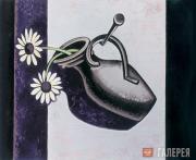 Дмитрий КРАСНОПЕВЦЕВ. Композиция с цветами в вазе. 1960