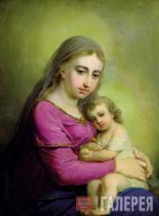 Vladimir  Borovikovsky. The Virgin with the Child