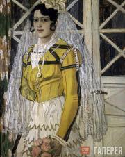 Golovin Alexander. A Spanish Woman. 1906-1907