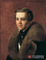 С.К.ЗАРЯНКО. Мужской портрет. 1840-е (?)