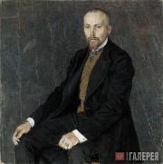 Golovin Alexander. Portrait of Nicholas Roerich. 1907