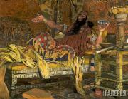 "Golovin Alexander. Portrait of Feodor Chaliapin as Holofernes. Opera ""Judith"" by"
