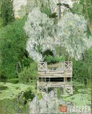 Golovin Alexander. Willows (Silver Willows). 1909