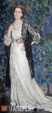 Golovin Alexander. Portrait of Marina Makovskaya. 1912