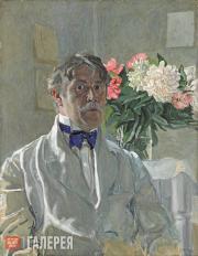 Golovin Alexander. Self-portrait. 1912
