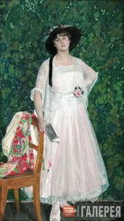 Golovin Alexander. Portrait of Maria Troyanova. 1916