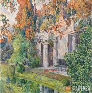 Golovin Alexander. In the Old Park. 1910s