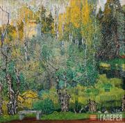 Golovin Alexander. Neskuchny Garden. 1910s