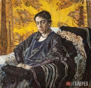 Golovin Alexander. Portrait of Nadezhda Dobychina. 1920