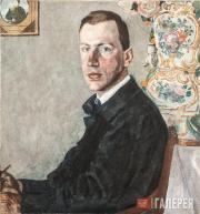Golovin Alexander. Portrait of Erich Gollerbakh. 1923