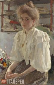 Serov Valentin. Portrait of Maria Lvova. 1895