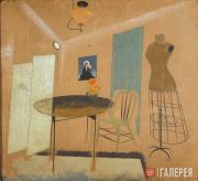 Интерьер, или Натюрморт + комната. 1918