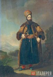 Vladimir BOROVIKOVSKY. Portrait of Murtaza-Kuli-Khan. 1796