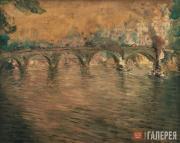 Kouznetzoff Constantin. The Pont Royal and the Institut de France. 1922-1924