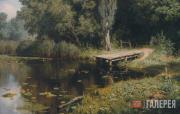 Polenov Vasily. Overgrown Pond. 1879