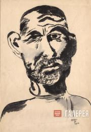 Харьковский Иов (портрет художника В. Ермилова). 1931