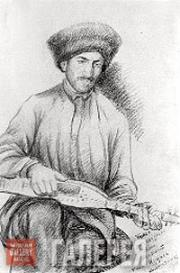 Dourbekov Gazi-Magomed. The Musician Hasan Tsutsaev