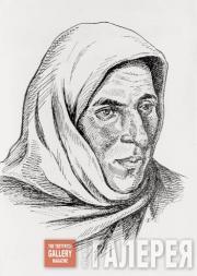Dourbekov Gazi-Magomed. Women's portrait