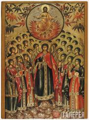 Неизвестный художник. Собор архангела Михаила. Начало XVIII в.