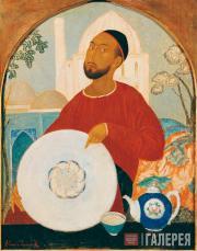 Isupov Alexei. Porcelain Salesman. 1921