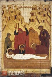 Неизвестный художник. Положение во гроб. Конец XV века (?)
