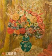Sacharoff Olga. Red Bouquet
