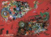 "Yury Ustinov. Set design for ""The Firebird"", ballet by Igor Stravinsky. 2002"