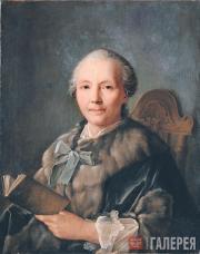 Иван АРГУНОВ. Портрет Хрипуновой. 1757