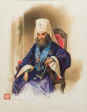 Woldemar Hau (1816-1895). Portrait of Metropolitan Filaret. 1854