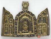 Икона-складень наперсная. 1411–1412 годы