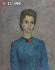 Falk Robert. Portrait of Cecilia Voskresenskaya. 1946