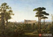 Matveyev Fyodor. A View of Rome. Colosseum. 1810s