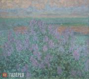 Zverkov Yefrem. Blooming Lilac. 1969