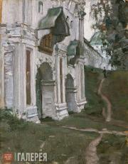 Якунчикова Мария. Монастырские ворота. Саввино-Сторожевский монастырь близ Звени