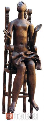 Сидящая в кресле. 1979
