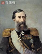 Aivazovskiy Ivan. Portrait of General Mikhail Loris-Melikov. 1888