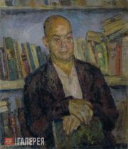 Falk Robert. Portrait of Viktor Shklovsky. 1948