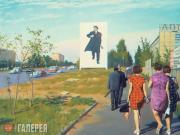 Улица Красикова. 1977