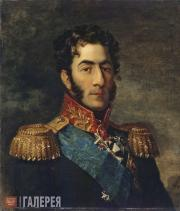 Мастерская Дж. Доу. Портрет Петра Ивановича Багратиона. Не позднее 1825