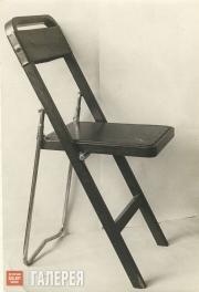 Zemlyanitsyn Boris. A folding chair. 1929