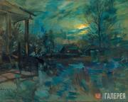 """Korovin Konstantin. """"I Was Riding to See You..."""". 1921"""