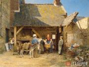К.Ф.ГУН. «Попался!». 1875