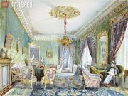 Nikolai TIKHOBRAZOV. Interior. 1844