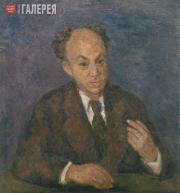 Falk Robert. Portrait of Solomon Mikhoels. 1947-1948