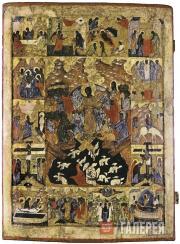 Неизвестный художник. Воскресение Христово – Сошествие во ад. XVI в.
